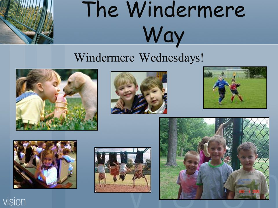 The Windermere Way Windermere Wednesdays!