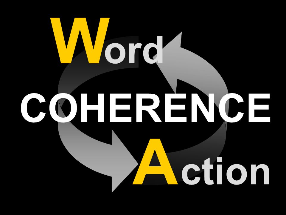 COHERENCE W ord A ction