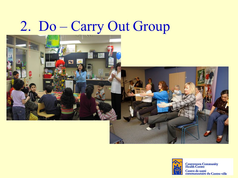 2. Do – Carry Out Group