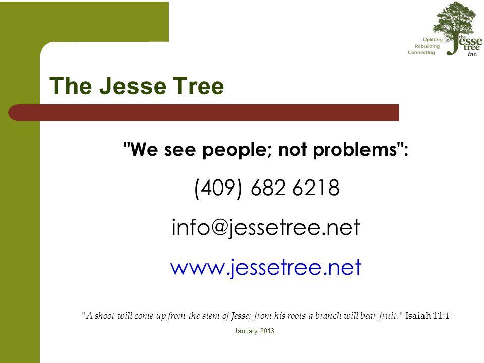 January 2013 The Jesse Tree