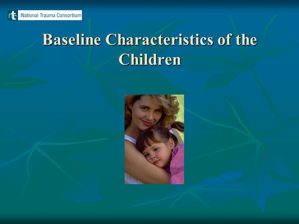 Baseline Characteristics of the Children