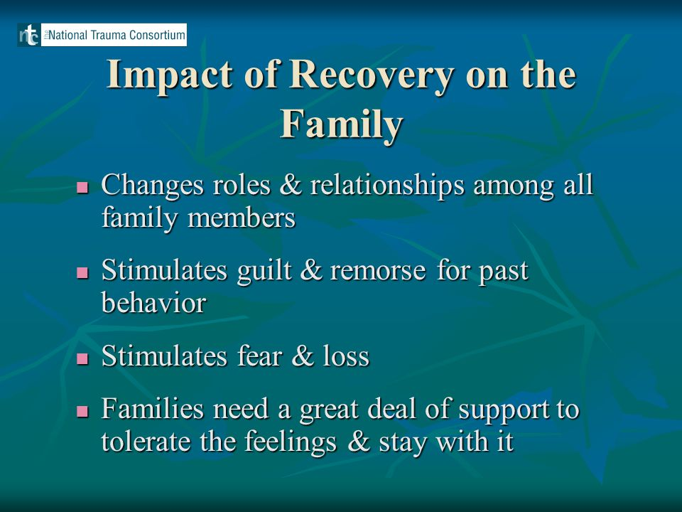 Outpatient Lessons Learned Role of consumers Role of consumers Feedback, flexibility, and responsiveness Feedback, flexibility, and responsiveness Connection as a theme Connection as a theme Child abuse reporting Child abuse reporting
