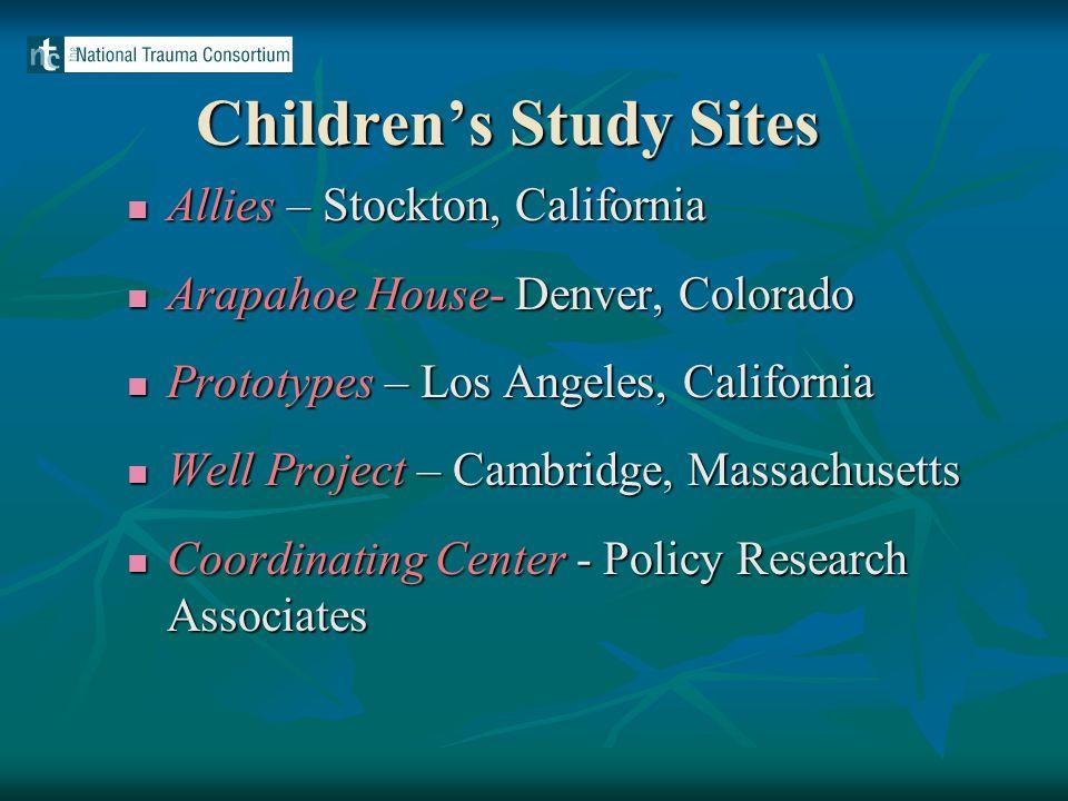Baseline Characteristics of the Children