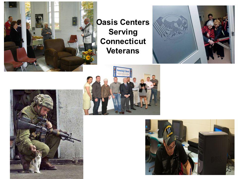 Oasis Centers Serving Connecticut Veterans