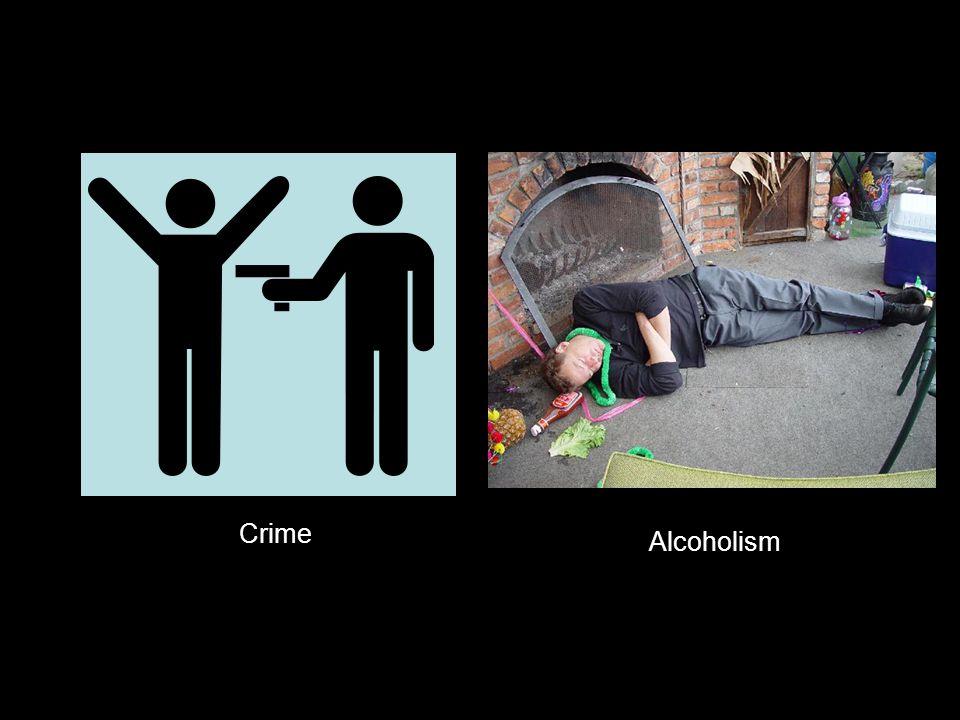 Crime Alcoholism