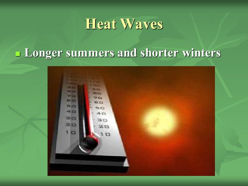 Heat Waves Elderly.Elderly. Babies and very young people.