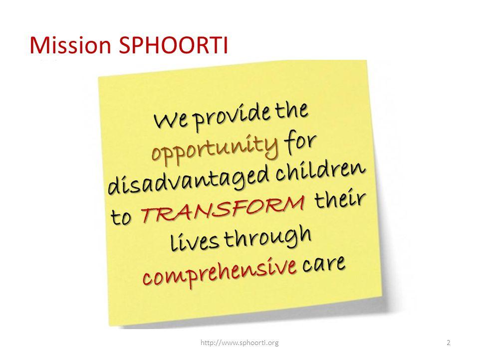 Mission SPHOORTI http://www.sphoorti.org2