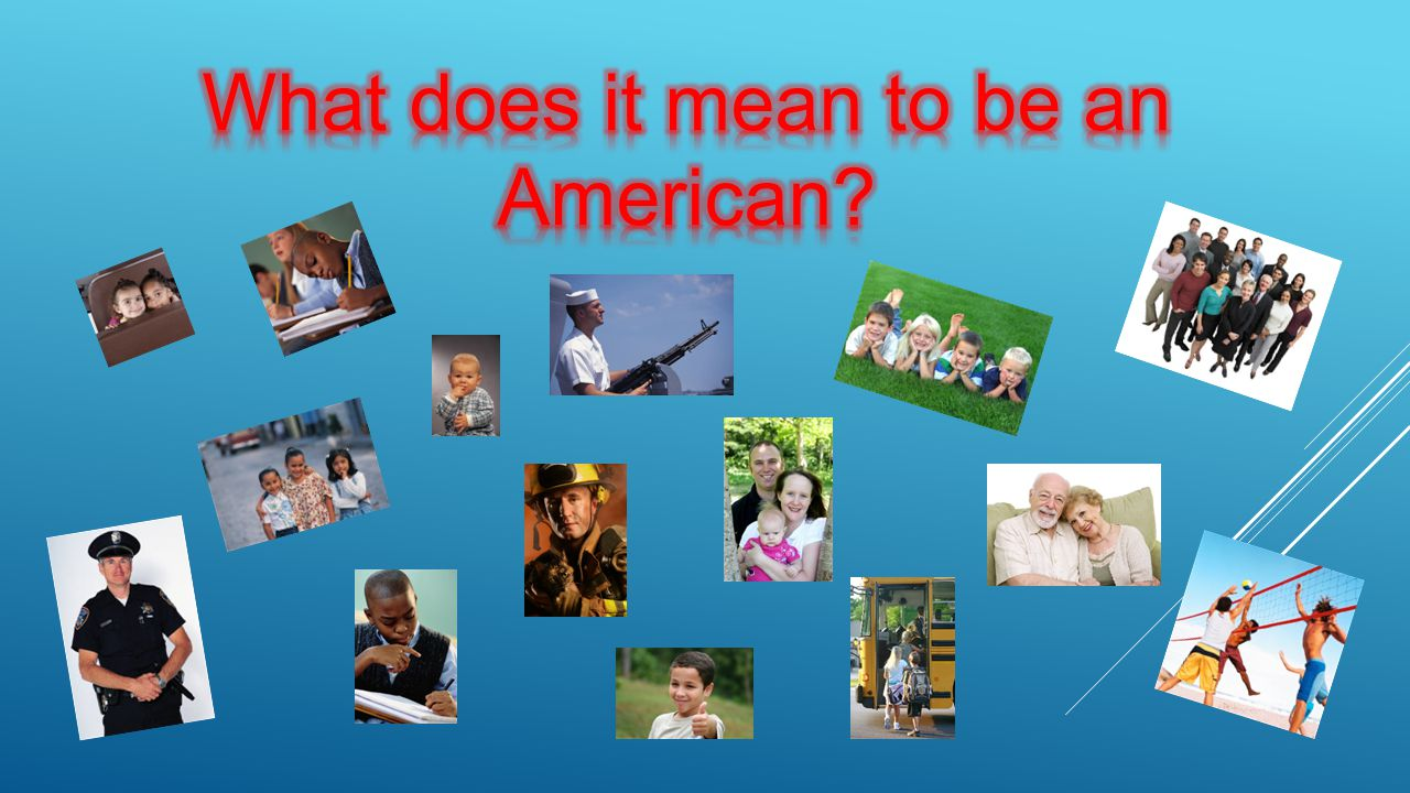 How and why does this represent America.