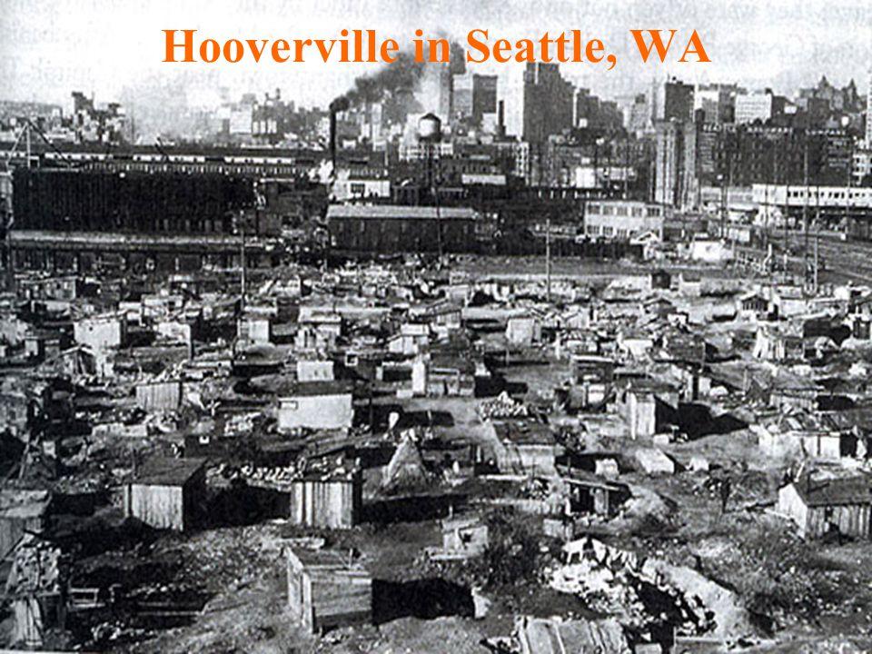 Hooverville in Seattle, WA