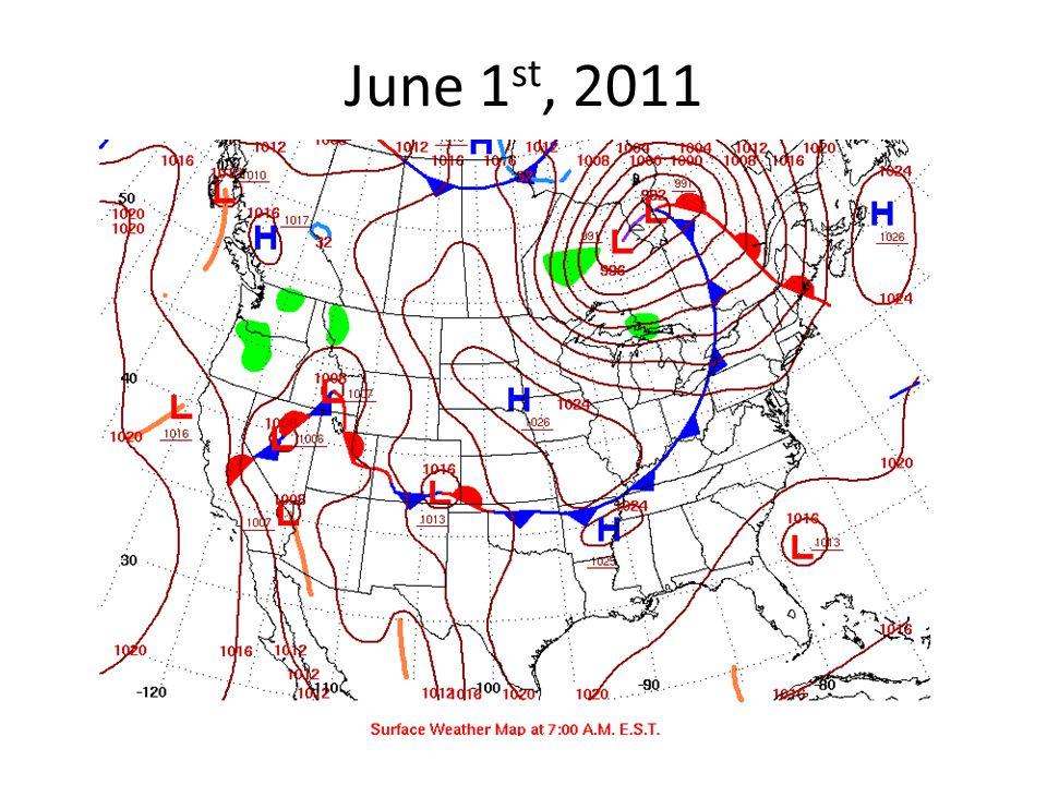 June 1 st, 2011