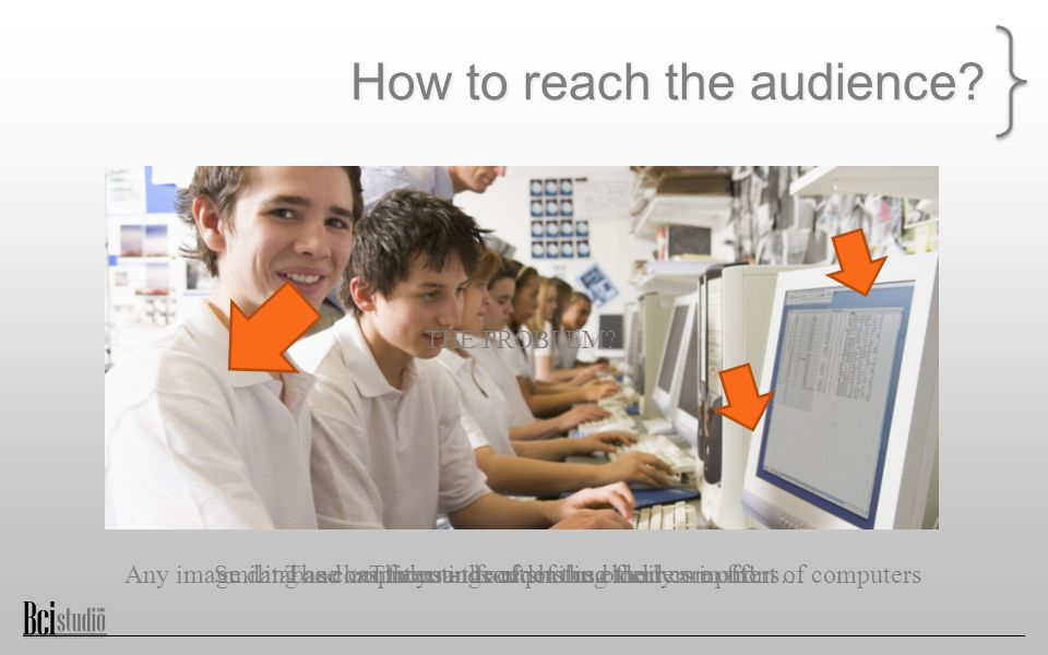 How to reach the audience.