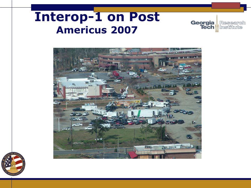 Interop-1 on Post Americus 2007