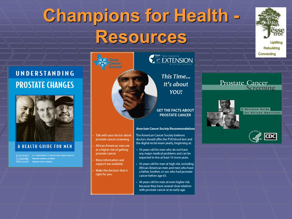 Champions for Health - Resources