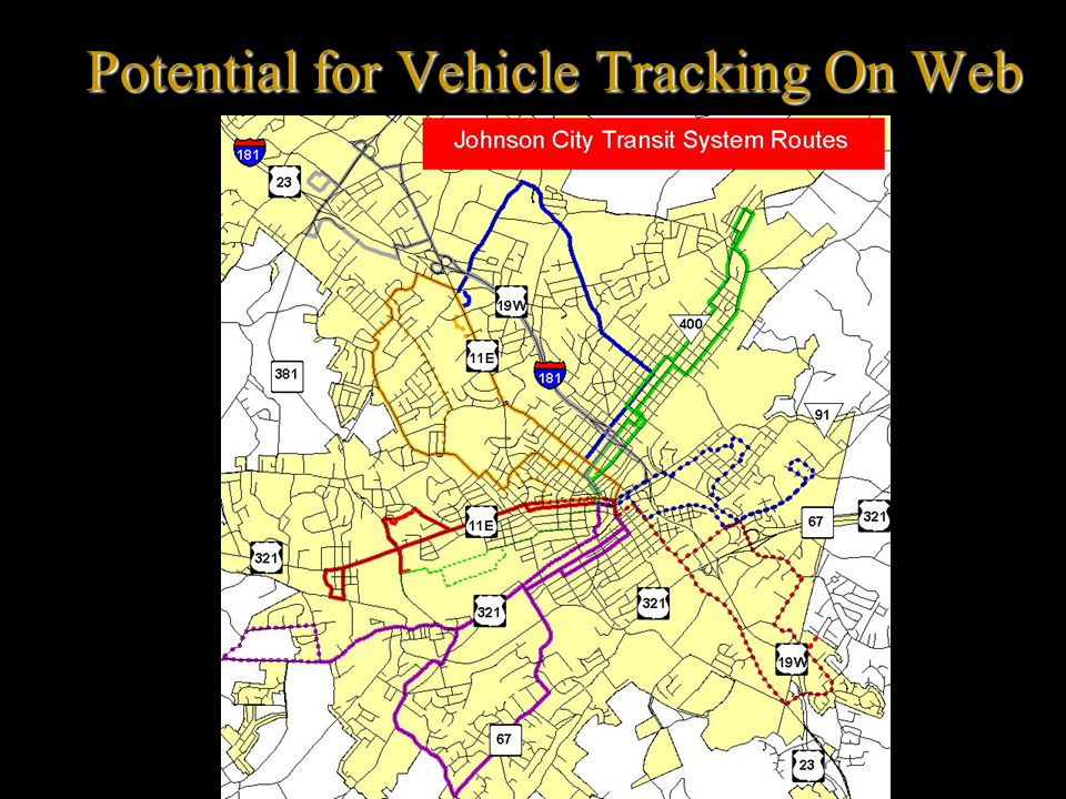 Potential for Vehicle Tracking On Web