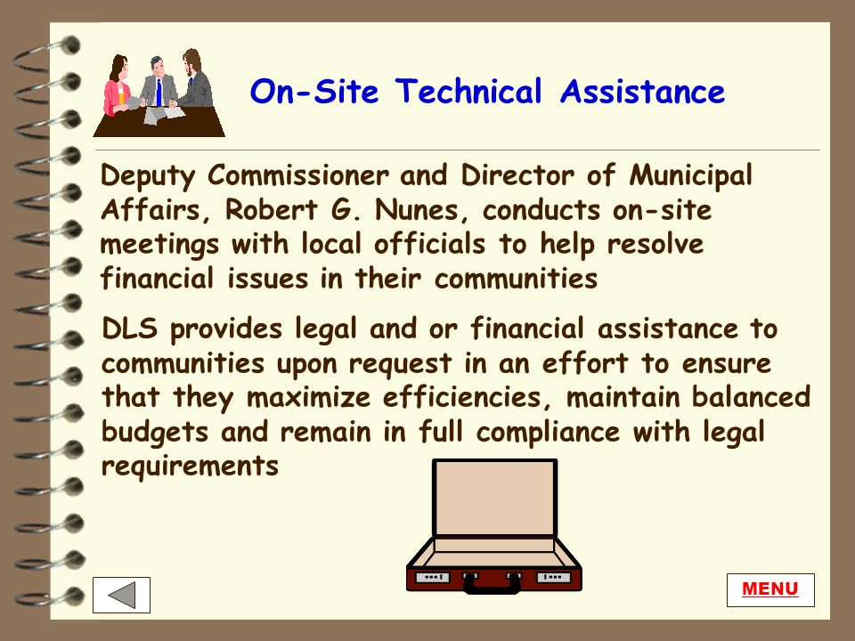 Public Information DLS fills many requests for public information from local officials, state legislators and taxpayers, annually. Requestors are enco