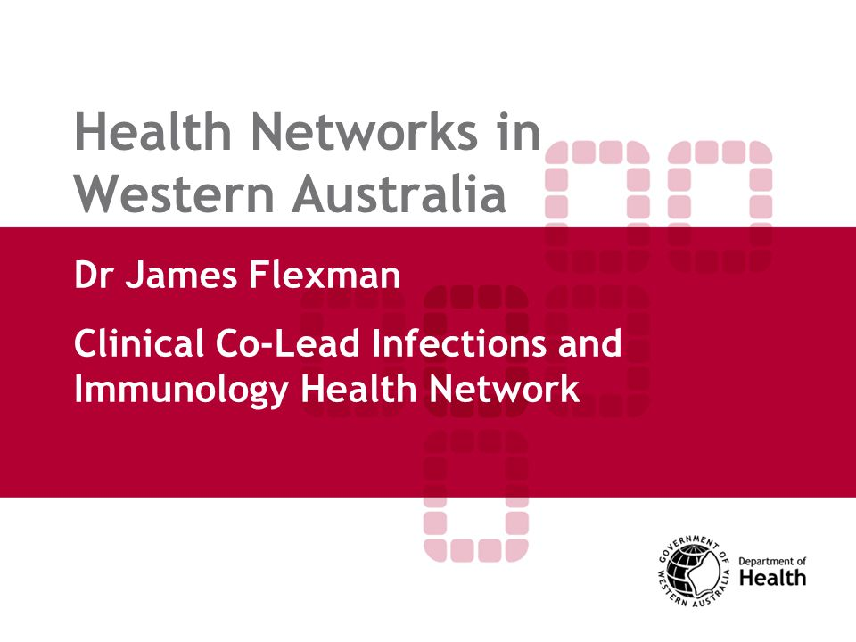 Why Health Networks.