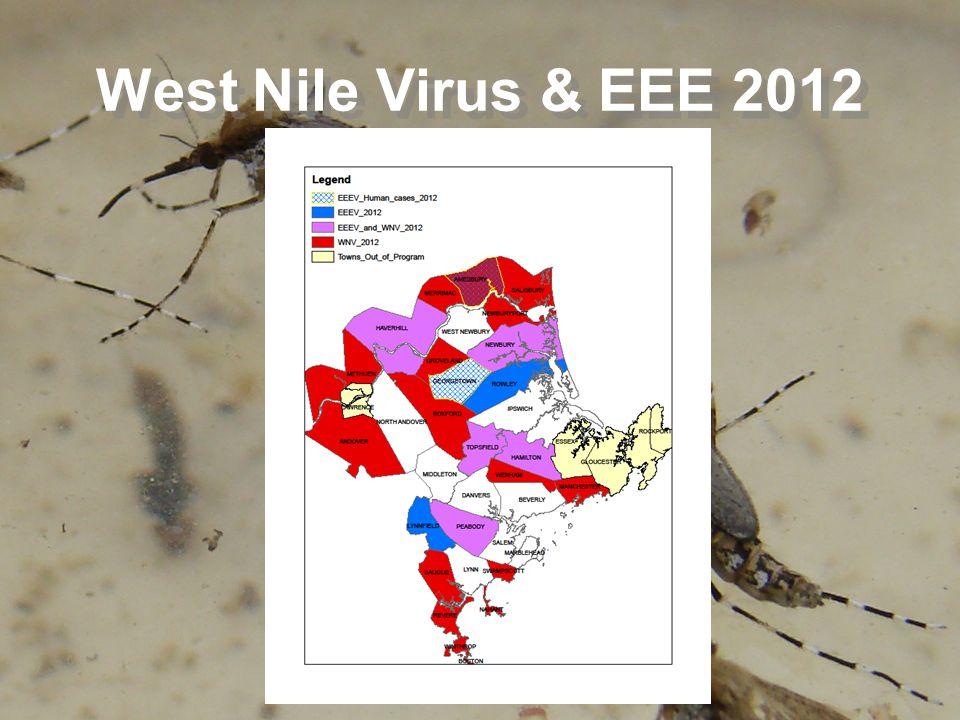 West Nile Virus & EEE 2012