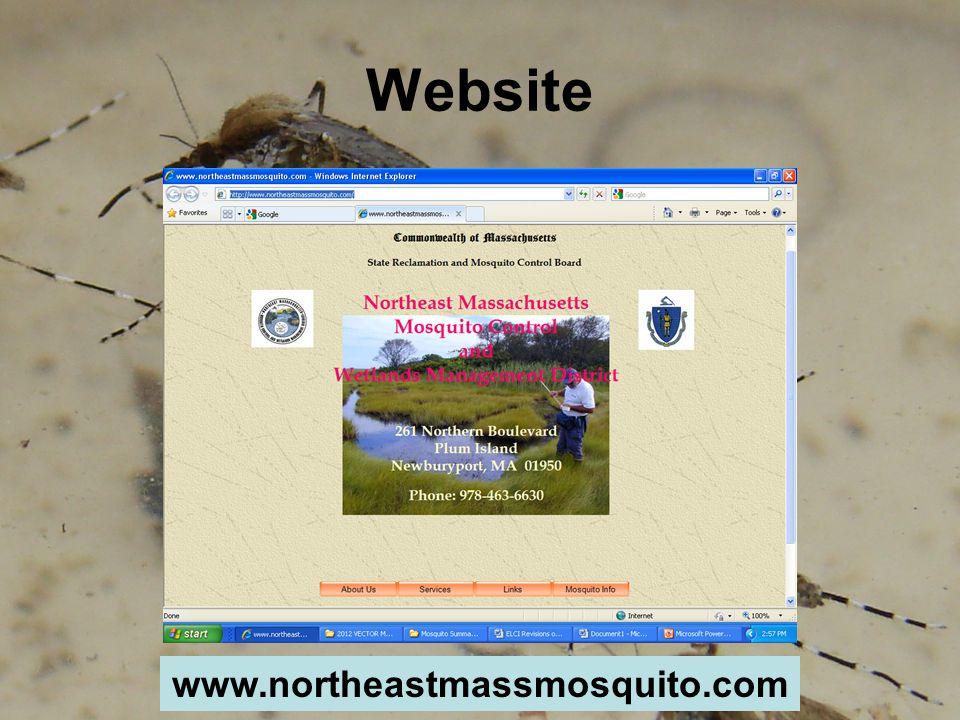 Website www.northeastmassmosquito.com