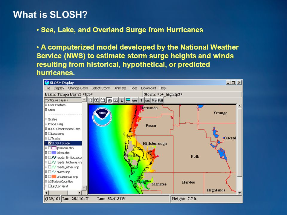 What is Storm Surge.
