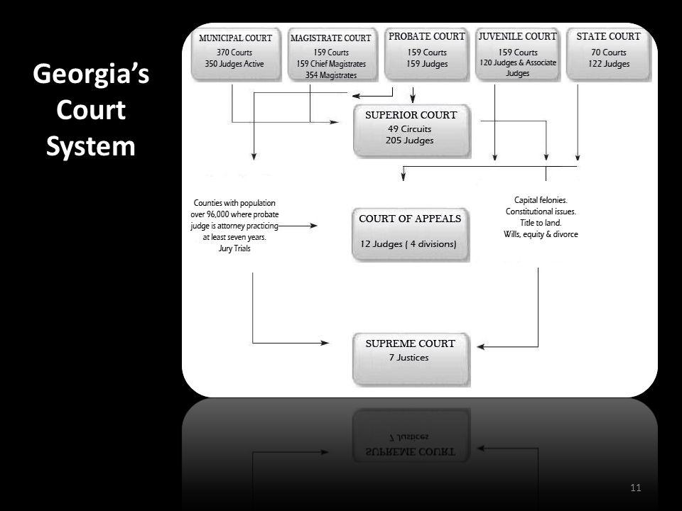 11 Georgia's Court System