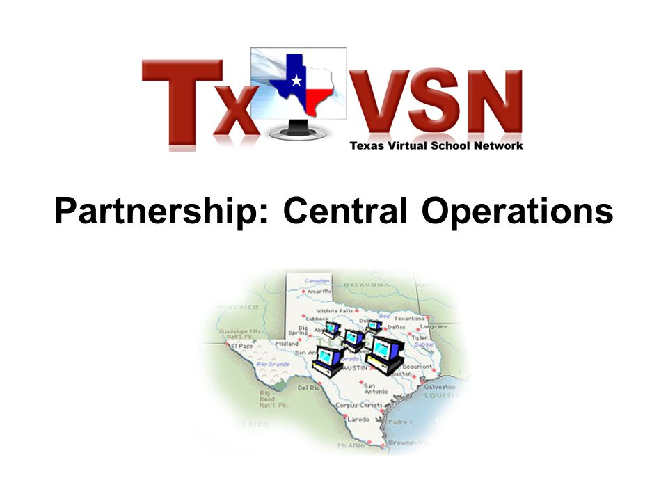 Partnership: Central Operations