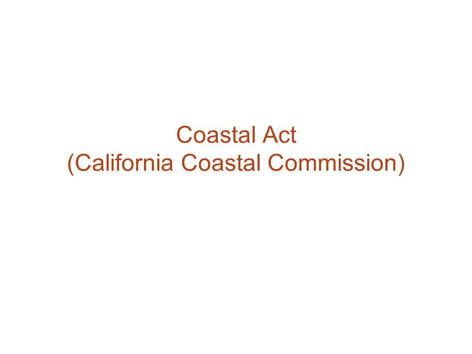 Coastal Act (California Coastal Commission)