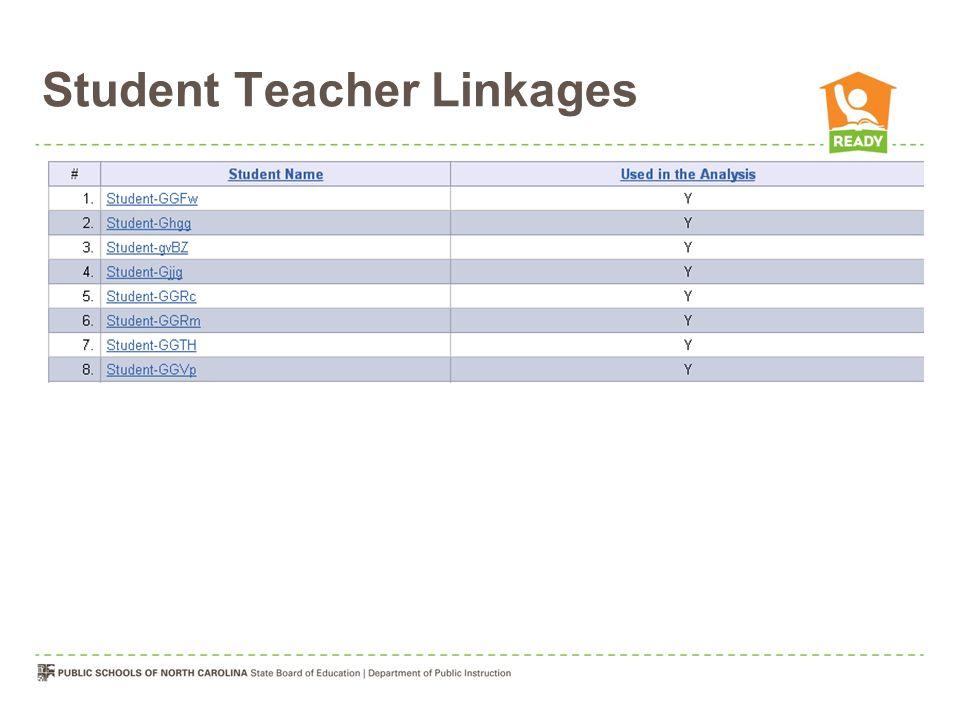 Student Teacher Linkages