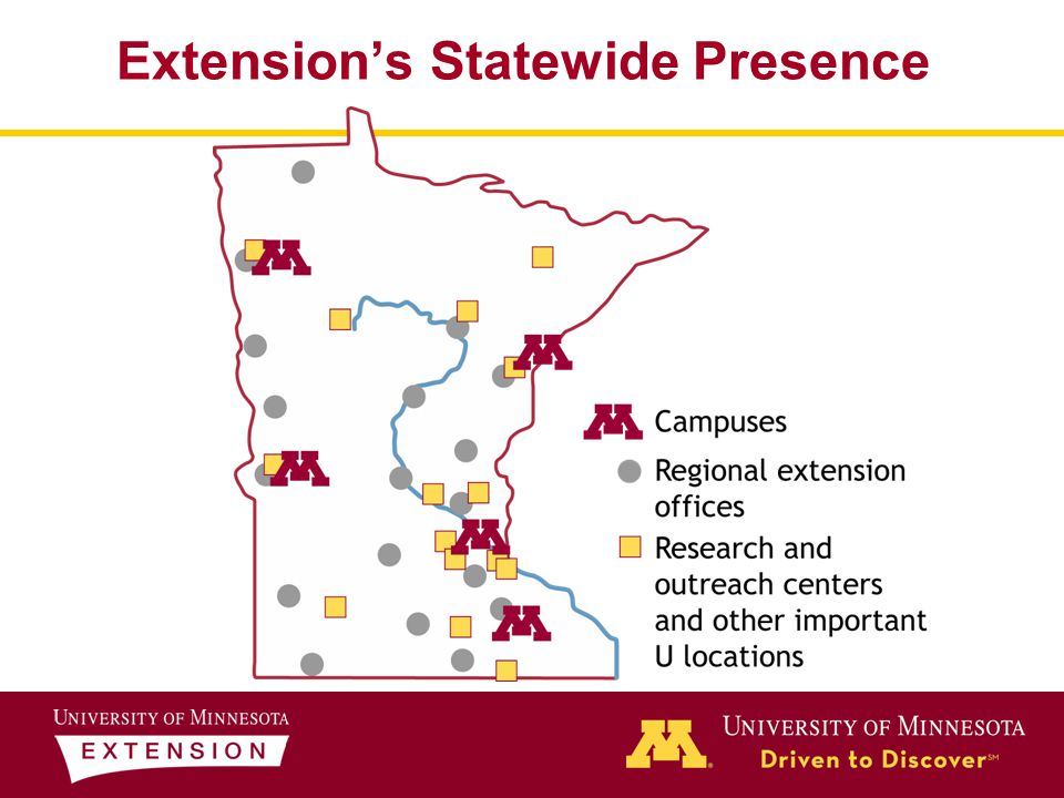 Extension's Statewide Presence