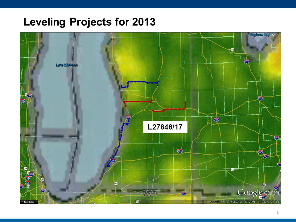 6 L27846/17 Leveling Projects for 2013