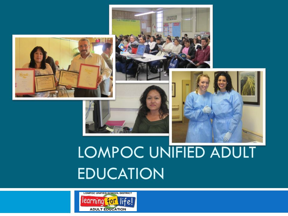 LOMPOC UNIFIED ADULT EDUCATION