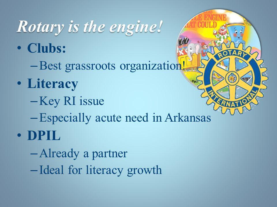Clubs: – Best grassroots organization.