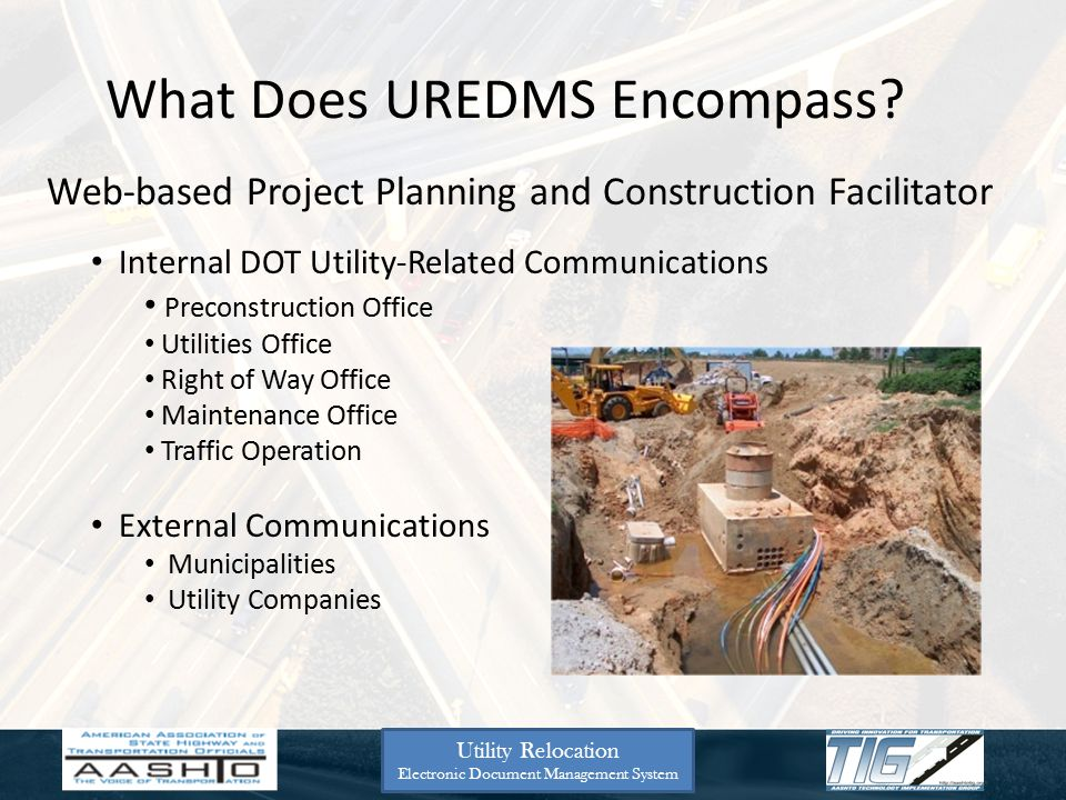 What Does UREDMS Encompass.