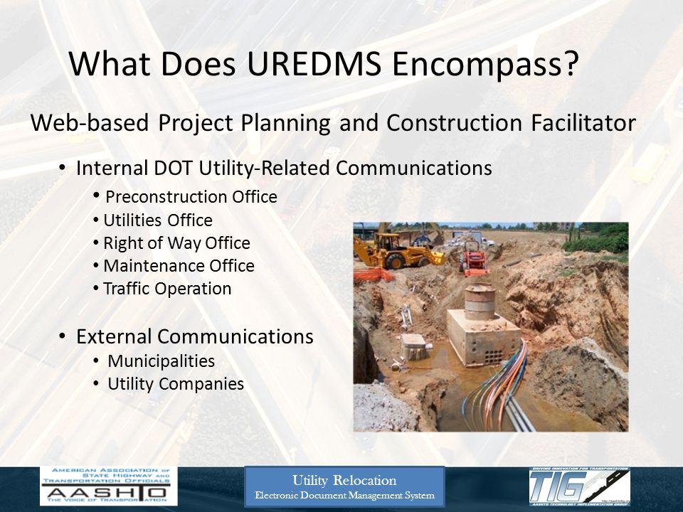 MDOT Next 4 Slides Utility Relocation Electronic Document Management System