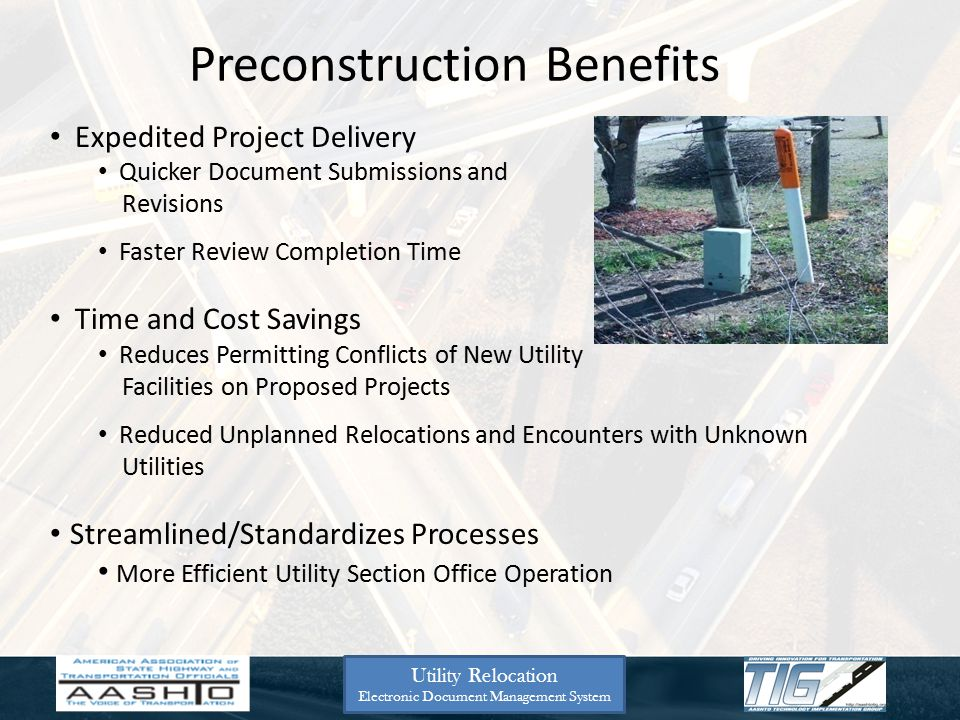 Preconstruction Benefits Expedited Project Delivery Quicker Document Submissions and Revisions Faster Review Completion Time Time and Cost Savings Red
