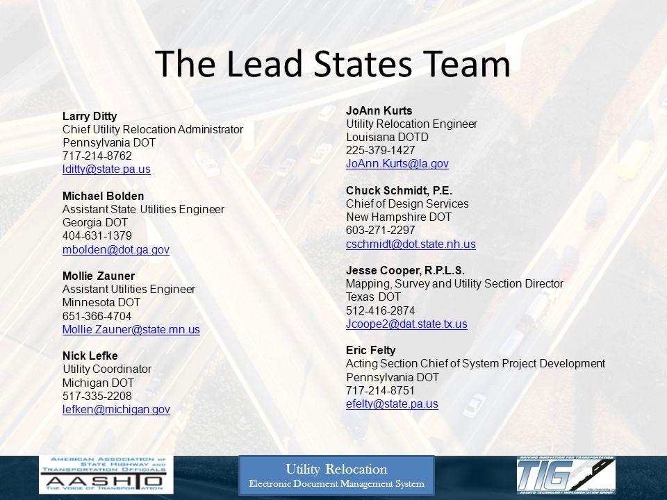 Promotes Uploads and Standardization Utility Relocation Electronic Document Management System