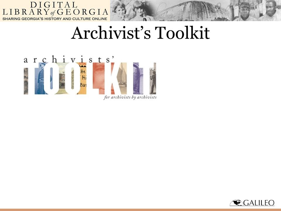 Archivist's Toolkit
