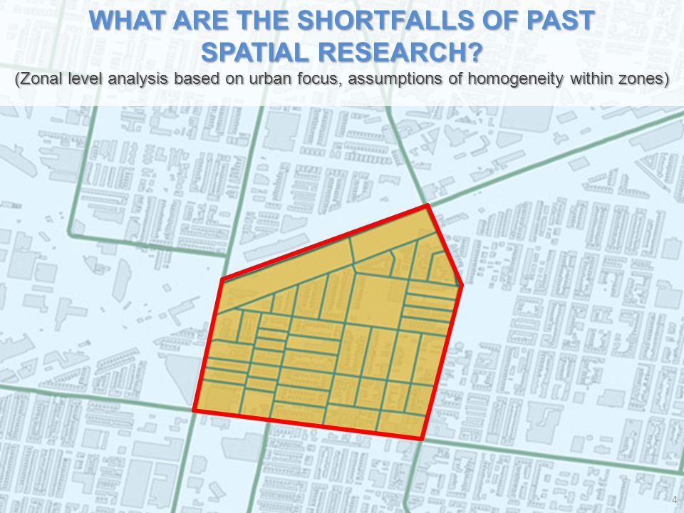 WHAT ARE THE SHORTFALLS OF PAST SPATIAL RESEARCH.