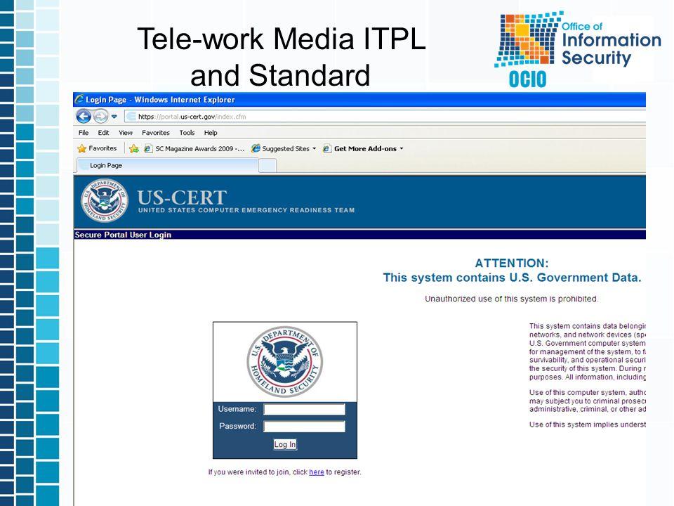 17 Tele-work Media ITPL and Standard