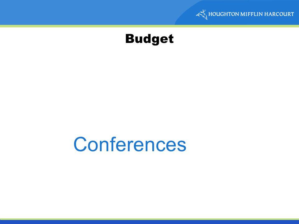 Budget Conferences