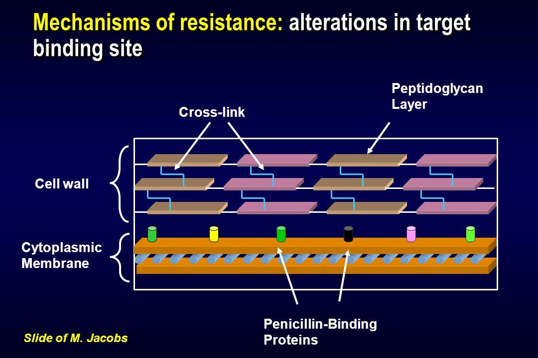 Fluoroquinolone Use and Pneumococcal Resistance: Canada, 1988–1998 Year 0 1 2 3 4 5 19881989199019911992199319941995199619971998 % cipro-R pneumococci 0 1 2 3 4 5 6 Prescriptions per 100 Persons <15 years 15-64 years 65 years Quinolone use  Chen et al.