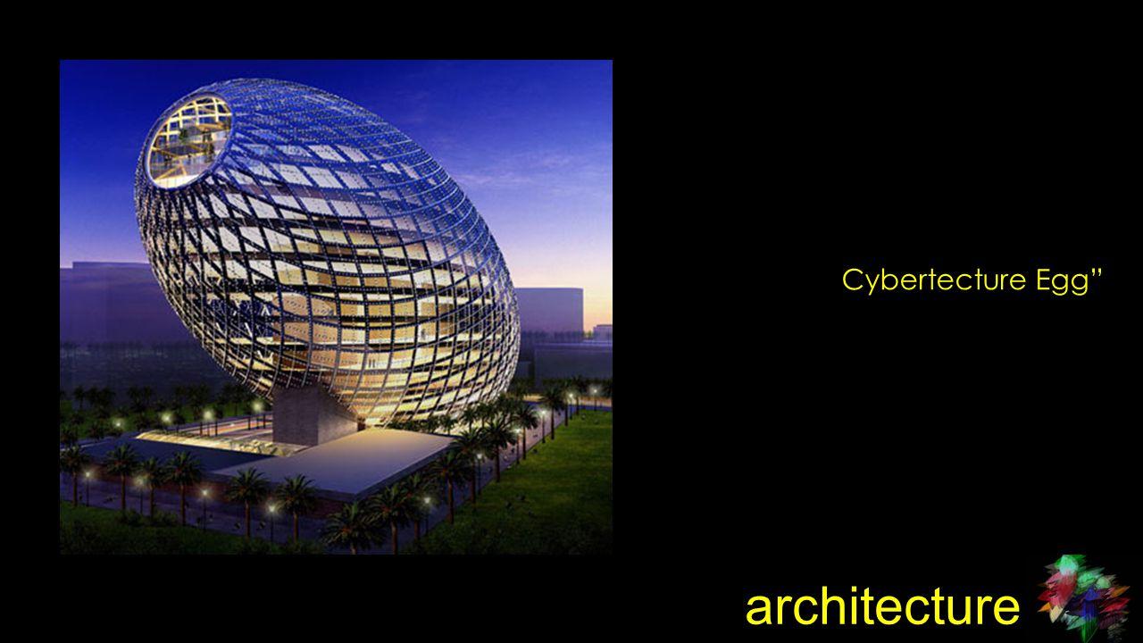 architecture Cybertecture Egg