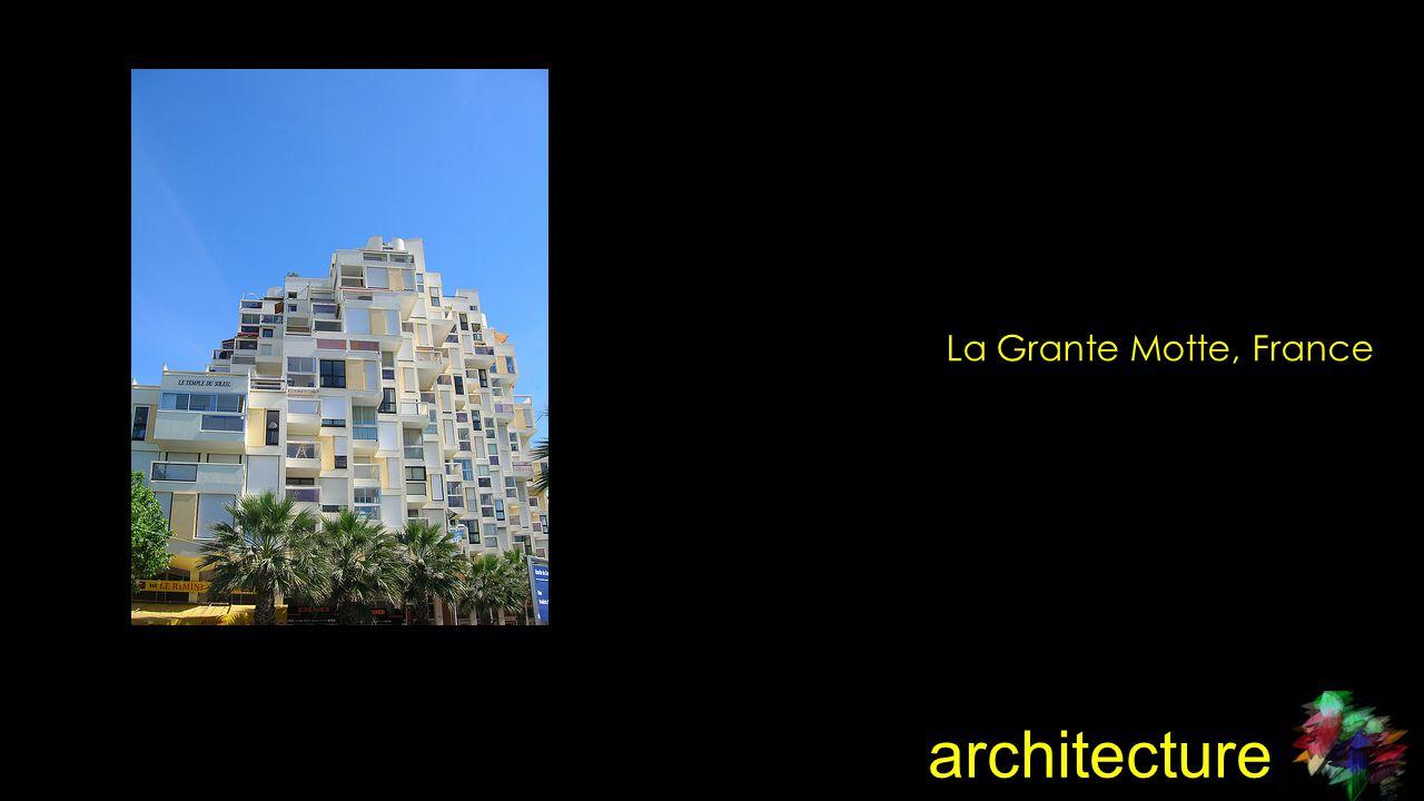 architecture La Grante Motte, France