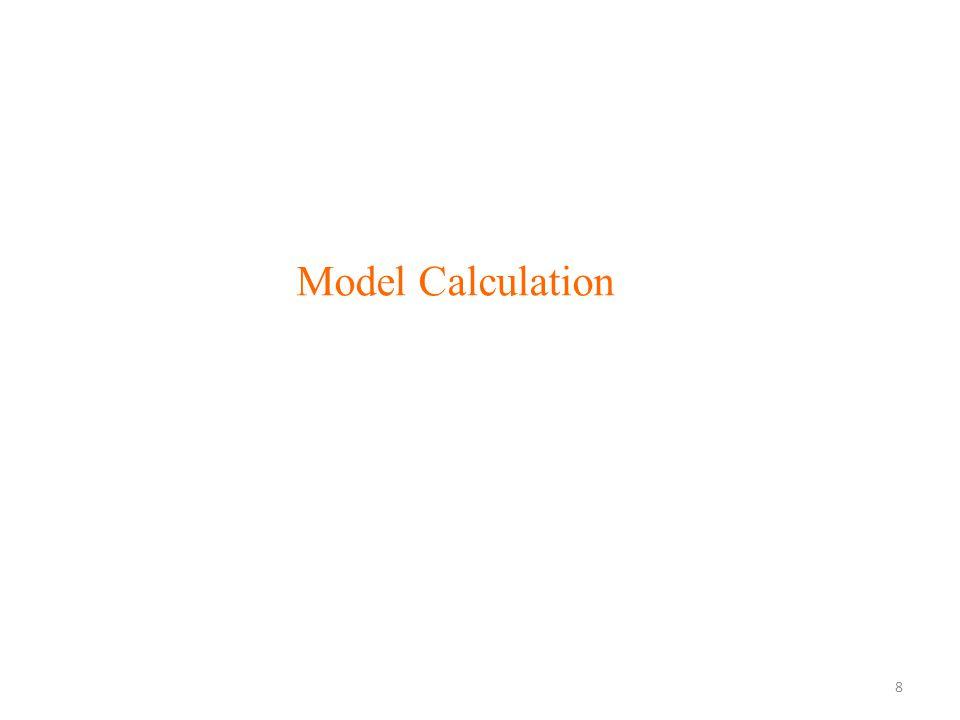Model Calculation 8