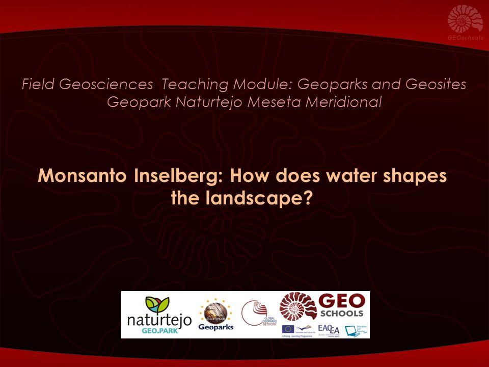 Geological Map of Naturtejo Global Geopark Monsanto Inselberg