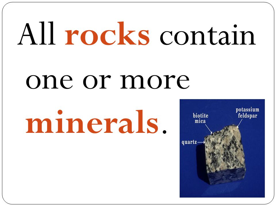 Schist is metamorphic rock with well developed foliation.