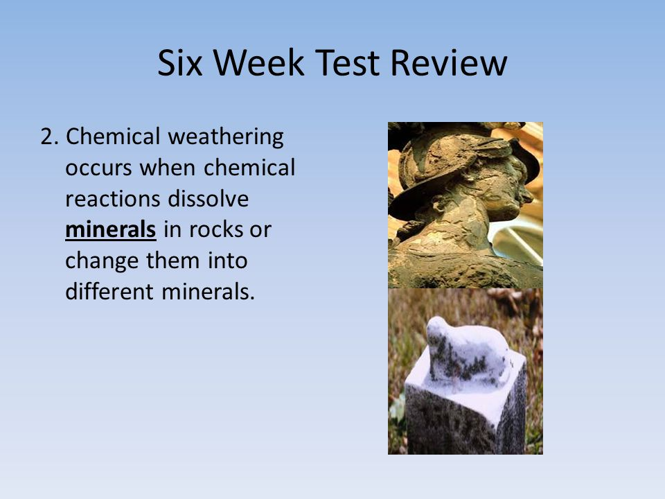 Six Week Test Review 2.