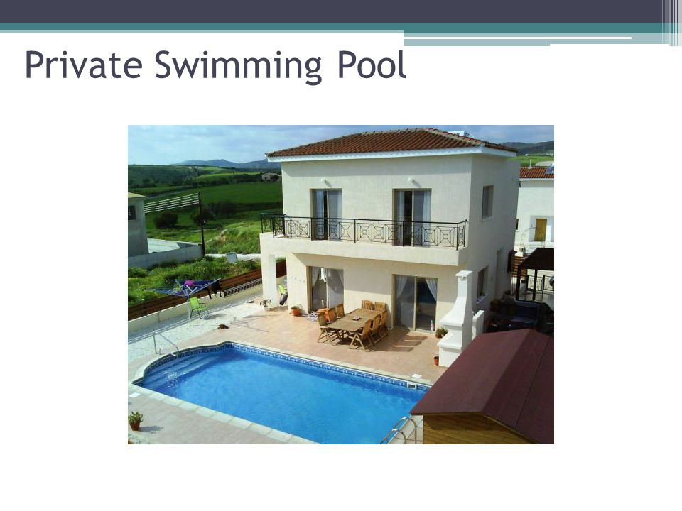 Private Swimming Pool