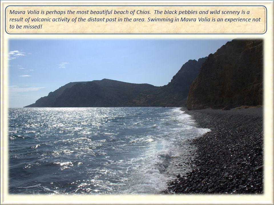The Beach of Mavra Volia