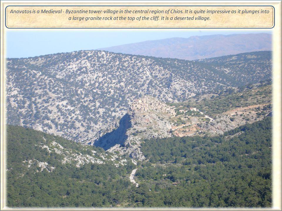 Medieval Villages The village of Anavatos