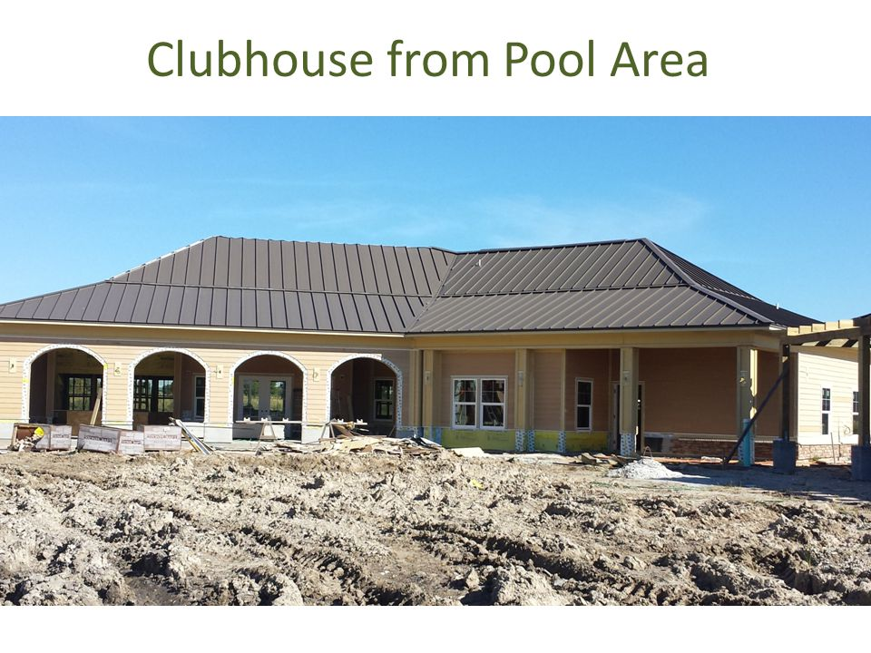 Clubhouse from Pool Area